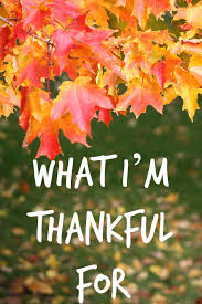 what i m thankful for being positive can change your