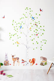 Woodland Forest Peel And Stick Wall Stickers Are An Easy Way To Bring A Room To Life Just Peel