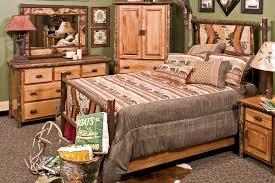 Birch Bedroom Furniture Hickory Adirondack Birch Twig Log Bed Rustic Hickory Bedroom