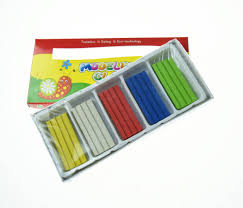 kids 5 color colorful craft clay oily plasticine buy kids