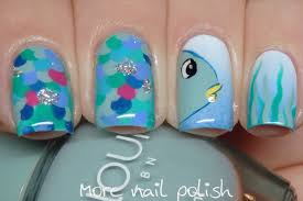 31dc2017 inspired book rainbow fish nail polish