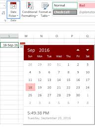 how to create a table in excel 2016 how to insert calendar in excel date picker printable calendar