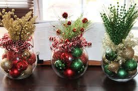 christmas centerpieces christmas centerpiece set of four christmas centerpieces