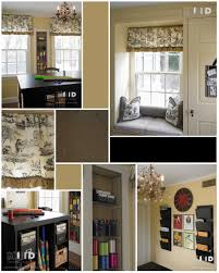 black white and yellow craft room design north carolina mbid