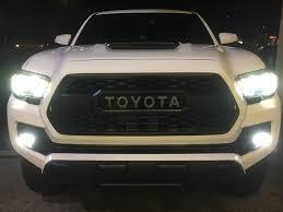 toyota tacoma fog lights toyota oval morimoto xb led fogs hid kit pros