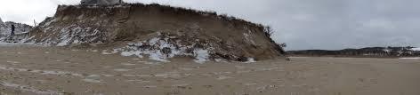 ballston beach breach in truro from winter storm juno