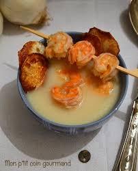 cuisiner les navets blancs recette de soupe blanche chou fleur navet et crevettes la