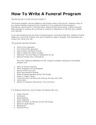 Funeral Program Ideas Passages For Funeral Programs