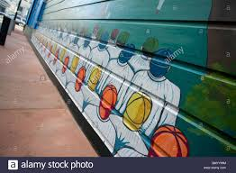 baseball wall mural north beach san francisco stock photo baseball wall mural north beach san francisco