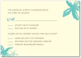 wedding invitation response card wedding invitations don t forget the entree selection
