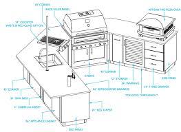 outdoor kitchen floor plans terrific outdoor kitchen design plans on home ideas homes abc