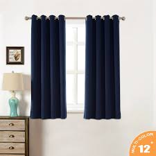 Thermal Energy Curtains Amazlinen Sleep Well Blackout Curtains Toxic Free