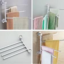 serviette cuisine en aluminium pivotant serviette barre rotative porte serviettes 4