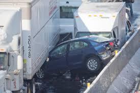 philadelphia turnpike pileup more than 50 cars crash after