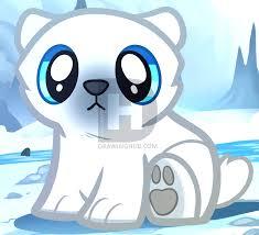 how to draw a baby polar bear polar bear cub step by step by