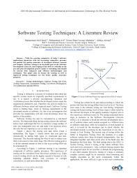 software testing techniques a literature review pdf download