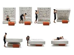 Convert A Couch Sleeper Sofa by Italian Multifunctional Furniture Living In A Shoebox