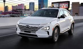 hyundai nexo new fuel cell ev revealed at ces 2018 cars life