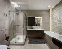 modernes badezimmer 3d wandpaneele und indirekte beleuchtung - Badezimmer 3d