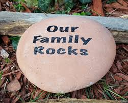 engraved garden stones personalized home outdoor decoration
