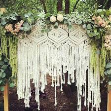 photo backdrop ideas 55 gorgeous and beautiful macrame wedding backdrop ideas for your