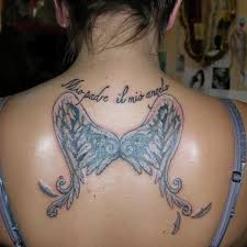 cool wing wing back on tattoochief com