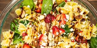 best strawberry balsamic pasta salad how to make strawberry