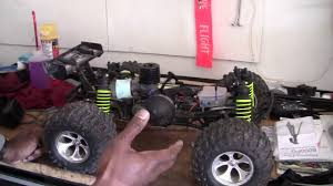 rc nitro monster trucks losi aftershock limited edition rc monster truck review youtube