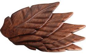 Ceiling Fan With Palm Leaf Blades progress lighting 5 pc palm fan blade kit cherry tropical