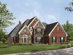 brick homes plans small brick house plans with stone best house design fascinating