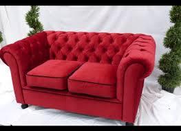 Chesterfield Style Armchair Red Velvet Chesterfield Style Armchair City Furniture Hire Alley
