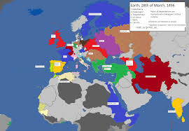 World War 3 Map by Political Map Mode From Saturdays Mp Game World War One Aar In