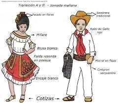 traje del sanjuanero huilense mujer y hombre para colorear mi alegría de vivir