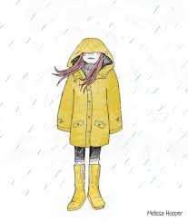 Yellow Raincoat Girl Meme - fall girl gif find download on gifer