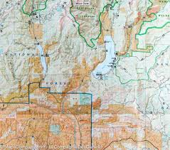 Blm Maps Colorado by Trail Map Of Pagosa Springs Bayfield Colorado 145