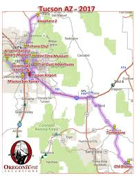Glendale Arizona Map by Tucson Az U2013 Oregonwest Excursions