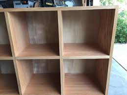 Build A Wood Shelving Unit by Bookcase Storage Cubby Unit 10 Steps With Pictures
