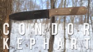 condor kephart knife review u0026 field test youtube