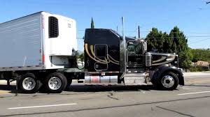 kenworth trailers kenworth w900 backing in youtube