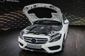 mercedes 2015 report mercedes benz c class coupe c63 amg and estate in the