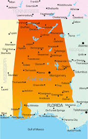 Fort Walton Beach Map Alabama Map Guide Of The World