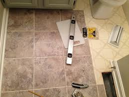 tile awesome how to install peel and stick tile in bathroom