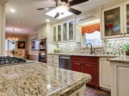 kitchen backsplashes black granite countertops white cabinets