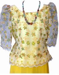 kimona dress gowns l b llantos embroidery