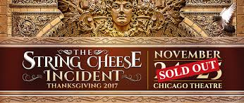 chicago thanksgiving sold out the string cheese incident