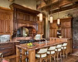 Dark Wood Kitchen Cabinets Houzz - Dark wood kitchen cabinets