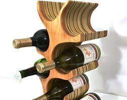tree wine rack etsy
