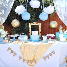 angel themed baptism baptism party ideas baptism dessert table
