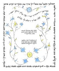 blessing baby baby naming baby blessing hebrew blessing hebrew calligraphy