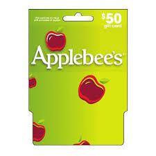 applebee s gift cards applebee s gift card 50 sam s club
